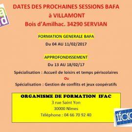 Session BAFA Février 2017